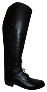 International Boot Co. Leather Riding Equestrian black Boots