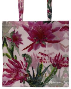 Ted Baker Floral 5054314904368 Nwt Light Weight Tote in Nude