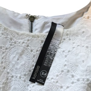 Kensie short dress White Eyelet on Tradesy