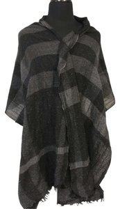 Burberry BURBERRY Signature London Large Oversized Long Shawl Nova Cashmere Merino Monogram Scarf