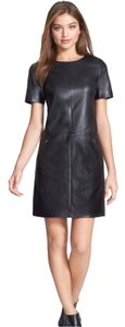 Halogen (nordstrom) Nordstrom Leather Dress