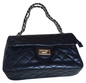 Other Quilted Iconic Black Clutch