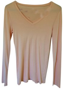 J.Crew T Shirt Light Pastel Orange