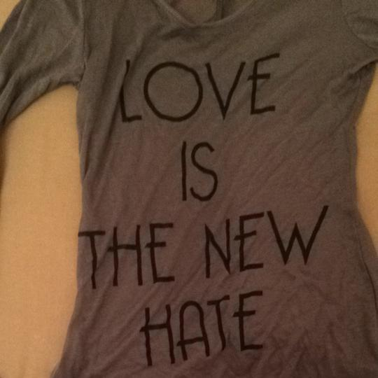 8d9cd6396 70%OFF Forever 21 Love Is The New Hate T Shirt - 28% Off Retail ...