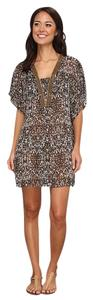 Badgley Mischka NWT B. Mischka Zara Beaded Cover UP SZ 6 SMALL