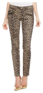 Juicy Couture Leopard Skinny Jeans