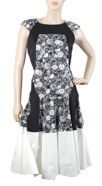 Preload https://item4.tradesy.com/images/thakoon-floral-cotton-print-two-tone-maxi-dress-black-grey-white-1075888-0-0.jpg?width=400&height=650