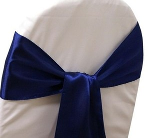50 Navy Blue Sashes - Wedding Party Banquet Decoration