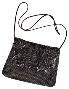 La Regale Sparkle Studded Formal Cross Body Bag