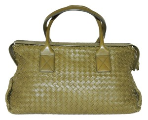 Bottega Veneta Satchel in Khaki Green