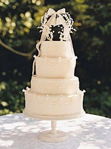 Vintage Lilly Of The Valley Cake Topper