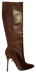 Alice + Olivia Brown Boots
