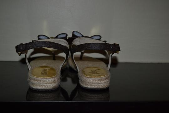 Michael Kors brown/pvc Sandals