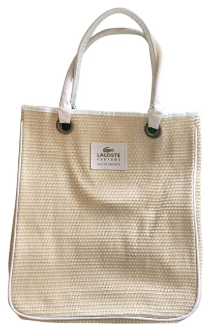 Item - Tote Cream Straw Beach Bag