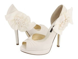 Nina Shoes Bridal Wedding Ivory White Shoes Pump Nina Shoes Nina Wedding Shoes