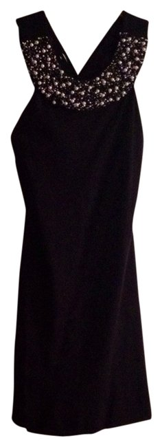 Preload https://item2.tradesy.com/images/bailey-44-black-with-pearl-collar-above-knee-cocktail-dress-size-4-s-1076111-0-0.jpg?width=400&height=650