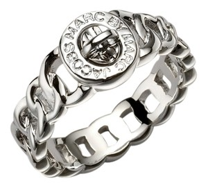 Marc by Marc Jacobs Marc by Marc Jacobs Turn Lock Ring in Silver