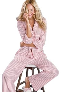 White / Pink Stripe Maxi Dress by Victoria's Secret