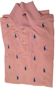 Polo Ralph Lauren Mens Custom Edition Special Edition Men's Shirt Button Down Shirt Pink