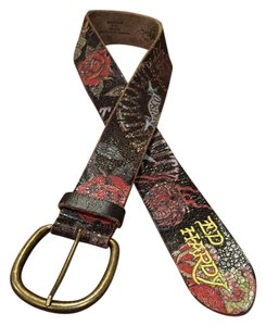 Ed Hardy ED HARDY Leather Belt