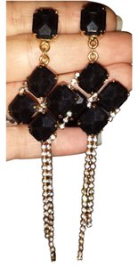 Erickson Beamon Erickson Beamon Gold Vermil Crystal Drop Earrings