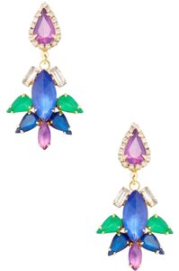 Erickson Beamon Erickson Beamon Gold Vermeil & Crystal Drop Earrings