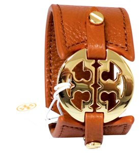 Tory Burch Tory Burch Logo Double Snap Cuff Bracelet