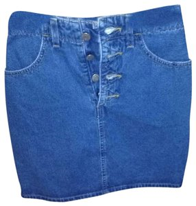 Guess Jean Denim Mini Skirt blue