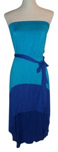 Arden B. short dress Blue/Teal on Tradesy