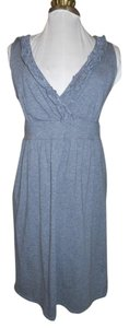 Ann Taylor LOFT short dress grey Knit on Tradesy