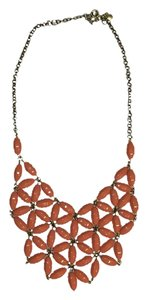 J.Crew Abstract Flower Bib Statement Necklace