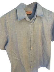 Thomas Pink Professional Button Down Shirt Blue