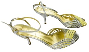 J.Crew Wedding Metallic Evening Mustard Silver Formal