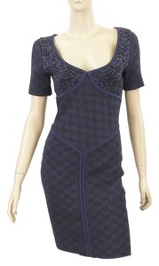Zac Posen Jacquard Knit Bodycon Dress
