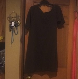 Chelsea & Violet short dress Brown on Tradesy