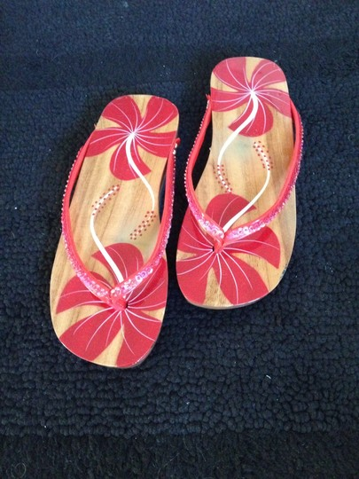 Other Wood floral Sandals