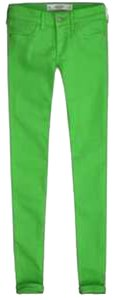 Abercrombie & Fitch Skinny Pants Bright green