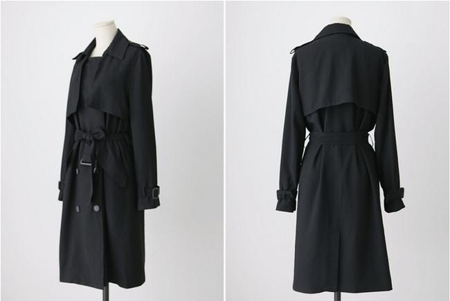 Other Double Breasted Trench Coat Image 1