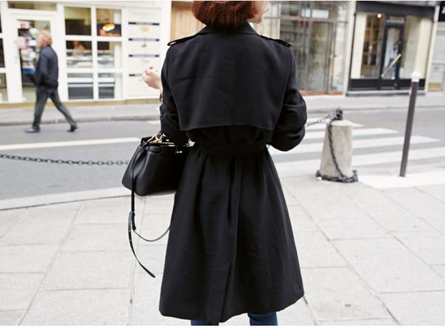 Other Double Breasted Trench Coat Image 6