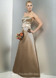 Bill Levkoff Euro Taupe Bill Levkoff #966 Dress