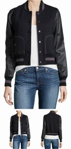 Rachel Zoe Blac Leather Jacket