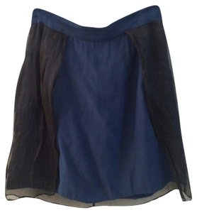 Timo Weiland Skirt Blue & Black