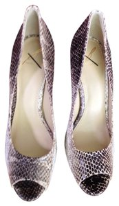 Brian Atwood Beige/Taupe Pumps