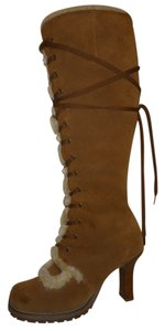 Colin Stuart Leather Suede tan Boots