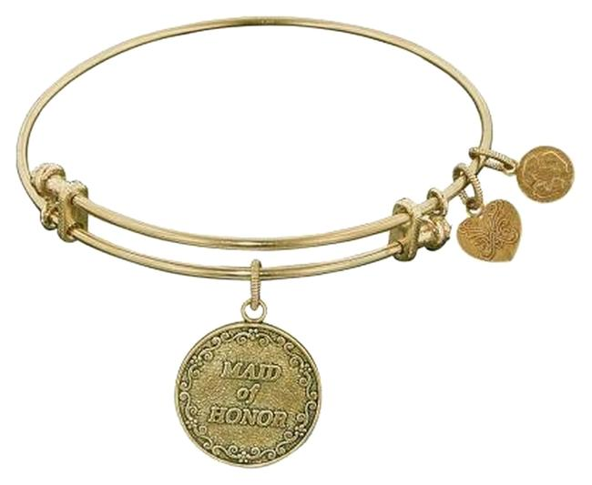 Item - Gold Tone New Maid Of Honor Charm Bracelet