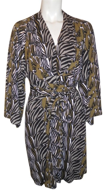 Preload https://img-static.tradesy.com/item/10772632/issa-london-black-tan-olive-and-white-zebra-print-banana-republic-above-knee-workoffice-dress-size-6-0-1-650-650.jpg