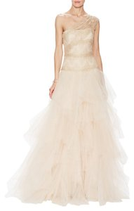 Marchesa Couture Tulle Gown Dress