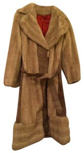 Leslie Laurence Tissavel Vintage Faux Fur London Fur Coat