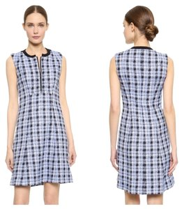 Derek Lam Work Plaid Dress