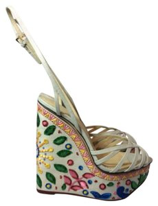 Charlotte Olympia Multicolor Wedges